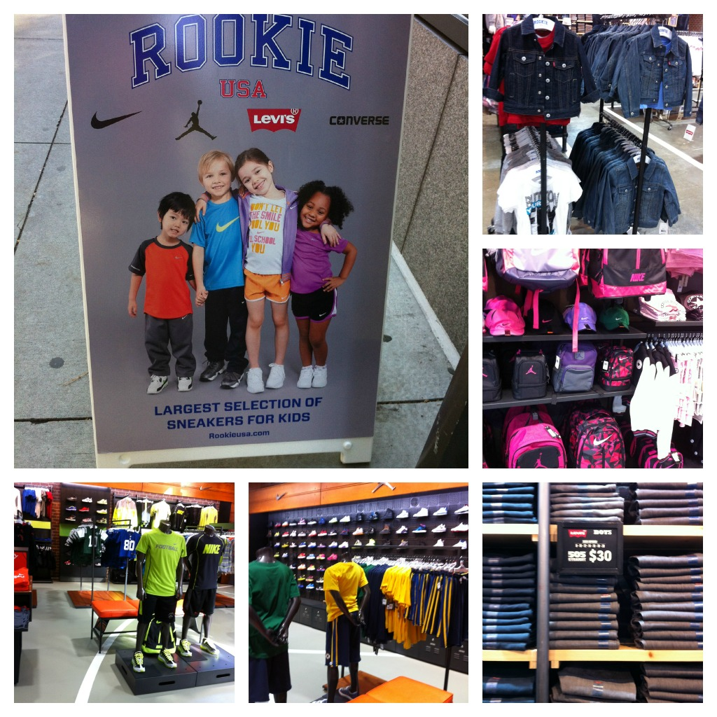 Sporty Fashion At The New Rookie USA Store #cbias