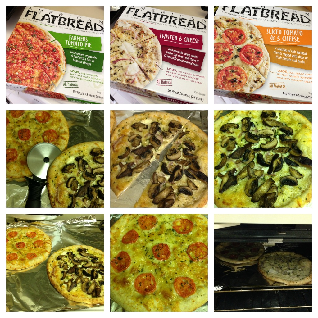 American Flatbread Pizza Collage