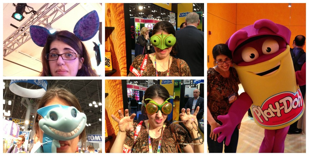 Toy fair faces collage #tf13