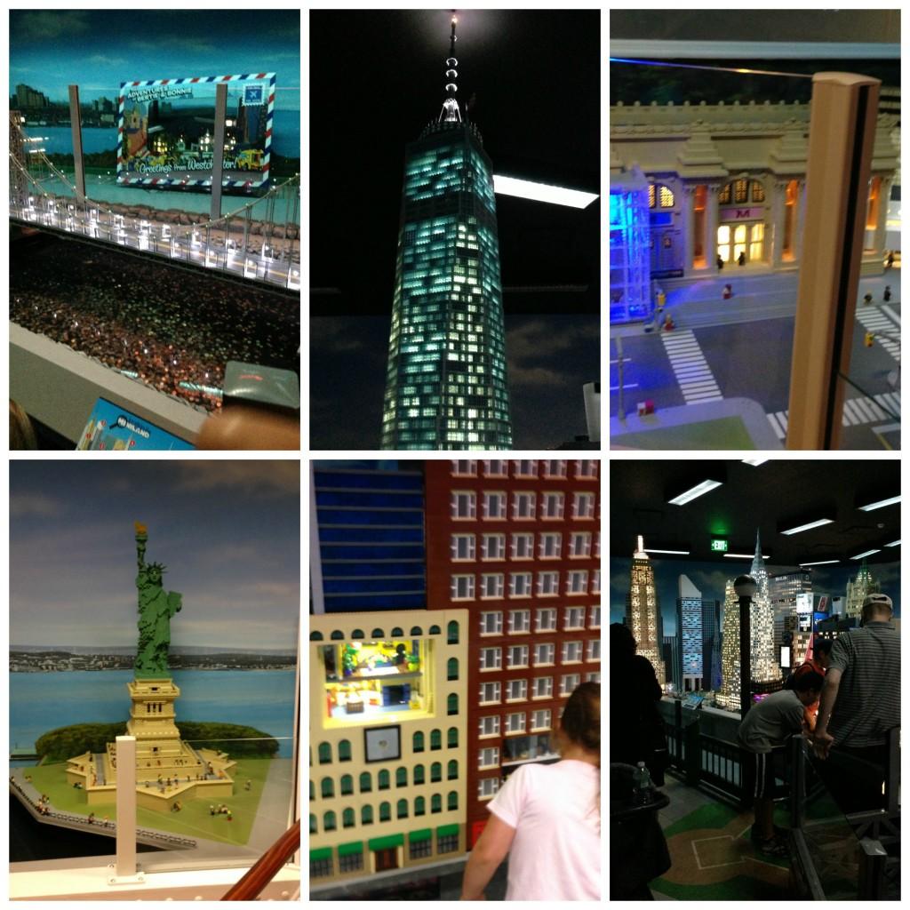 Miniland at Legoland Westchester