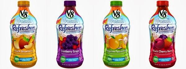 V8 V-Fusions Refreshers