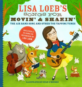 Lisa Loeb Songs for Movin and Shakin cover(1)